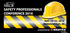 NECA Safety Professionals Conference 2016 presented by Westex by Milliken
